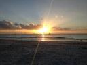 Last day, final sun set.