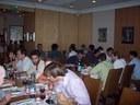 Social event, dinner at fine French restaurant