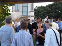 """""""Networking the networkers"""" at the speakers reception"""